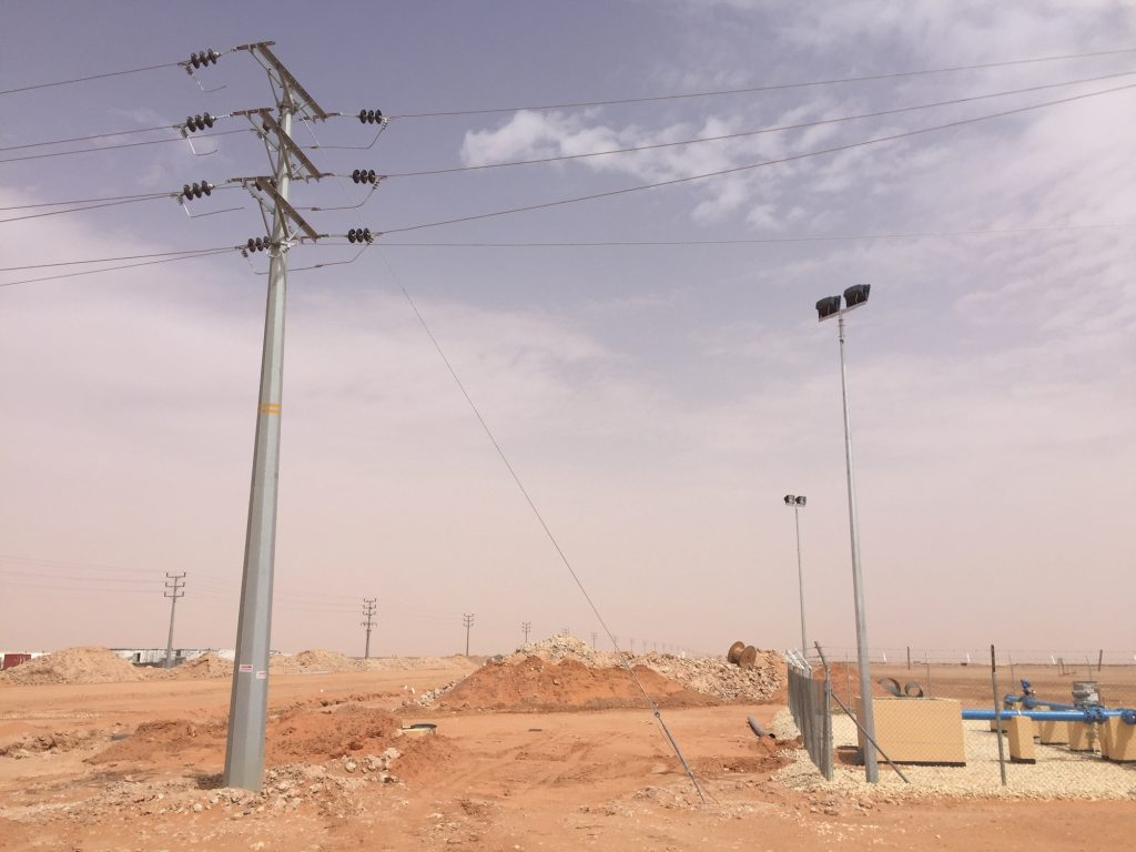 L/33 kV DC Wasia Water Plant-Wasia Wells Field
