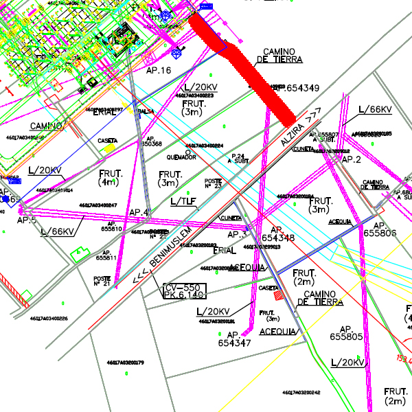 E/S ST Bernat de L/220 kV Dx Alzira – Valldigna